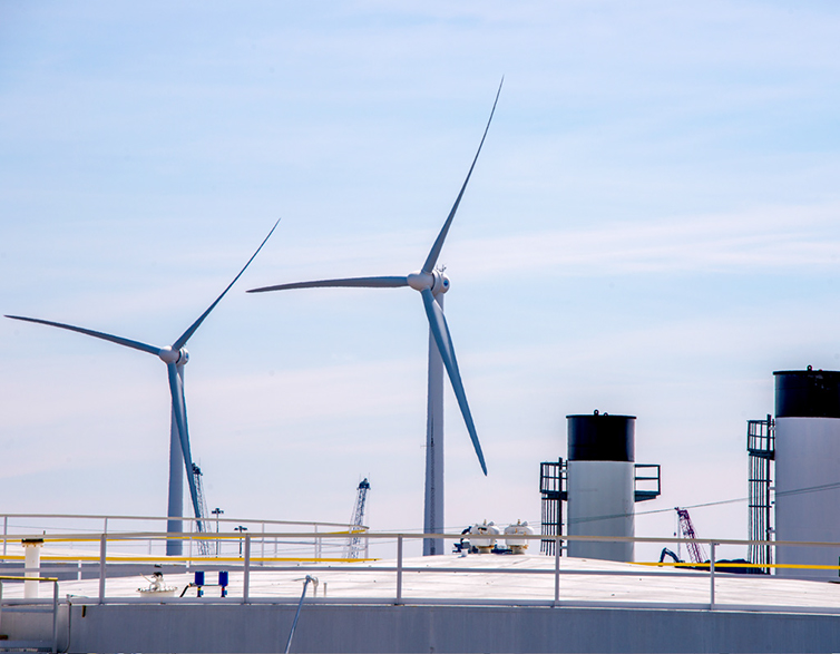 Waterfront Wind Power