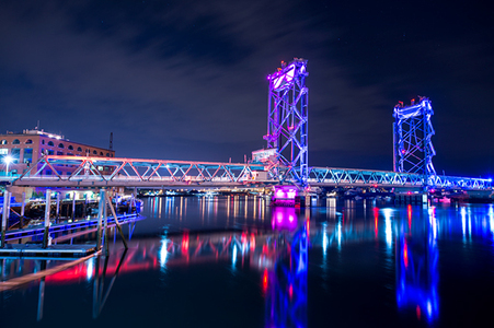 Memorial Bridge, Portsmouth, NH
